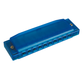 Hohner See-Thru Happy Harp Blue