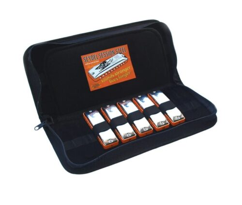 Seydel Blues Session Steel Harmonica Case